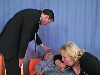Husband Sharing His Old Wife With His Psychologist Porn 39