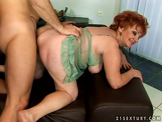 Supergranny Gets Fucked So Hard And So Deep